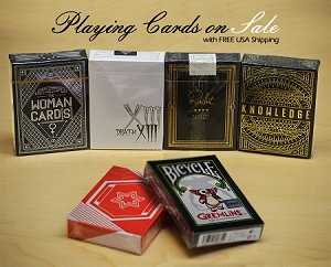 Playing Cards Deck Set on Sale (Knowledge, Death)