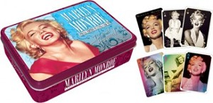Marilyn Monroe 2 Deck Playing Cards in Tin