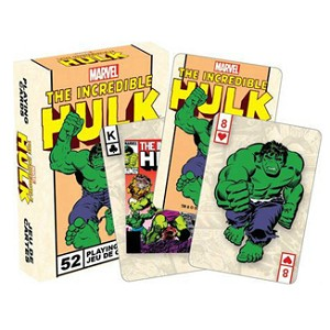 Marvel The Hulk Playing Cards