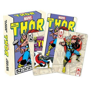 Marvel Mighty Thor Playing Cards