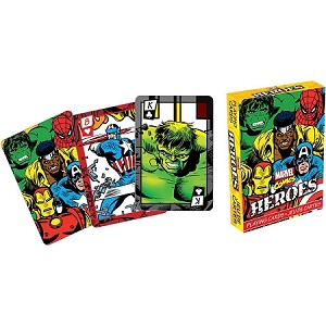 Marvel Heroes Comics Playing Cards Deck