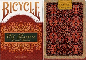 Bicycle Old Masters Limited Edition Playing Cards