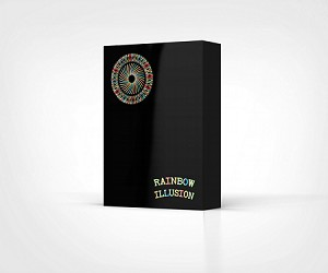 Rainbow Illusion Playing Cards Metallic Relaunch
