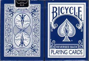 Bicycle Reversed Back Blue Playing Cards
