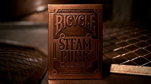 Steampunk Bronze Playing Cards