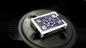 Tally Ho Fan Back Playing Cards Blue