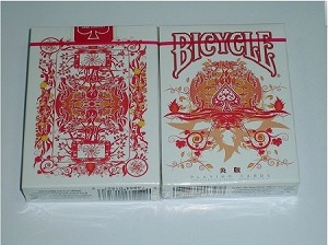 Bicycle Transducer Fire Deck Playing Cards