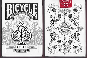 Bicycle Truth Garden No. 4 (white) playing cards