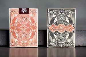Unbranded Gold Certificate Playing Cards